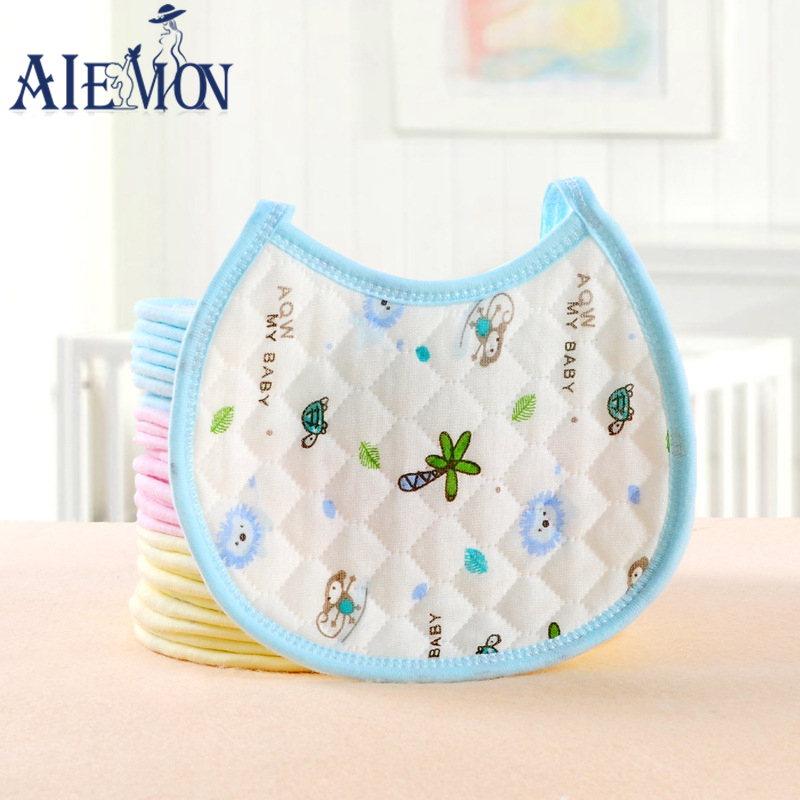 3pcs/lot 100% cotton Baby Bibs dinner Bibs Burp Cloths Towel Saliva for kids baby burp cloths