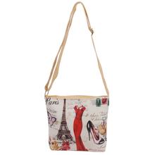 2016 Fashion Women Messenger Bags Canvas Print Crossbody Shoulder Bag Small Ladies Designer Handbags High Quality Sac pour femme