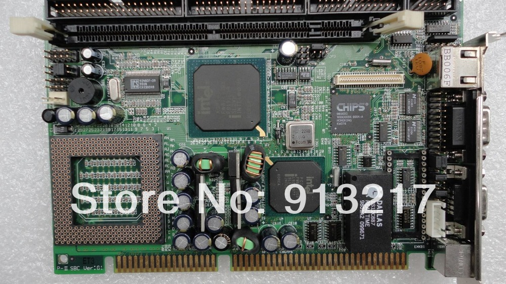 P-II SBC Ver:G1 Embedded industrial motherboard P-II SBC G1 100% tested working DHL EMS free shipping(China (Mainland))