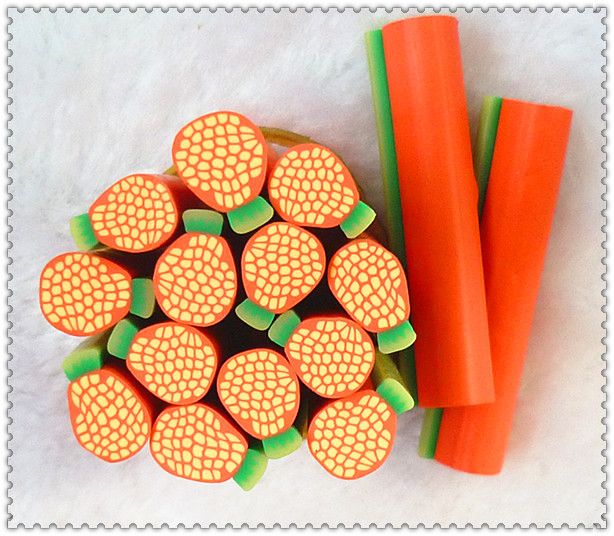 Nail art clay tablets fruit slice mobile beauty materials nail art decoration supplies nail art clay bar