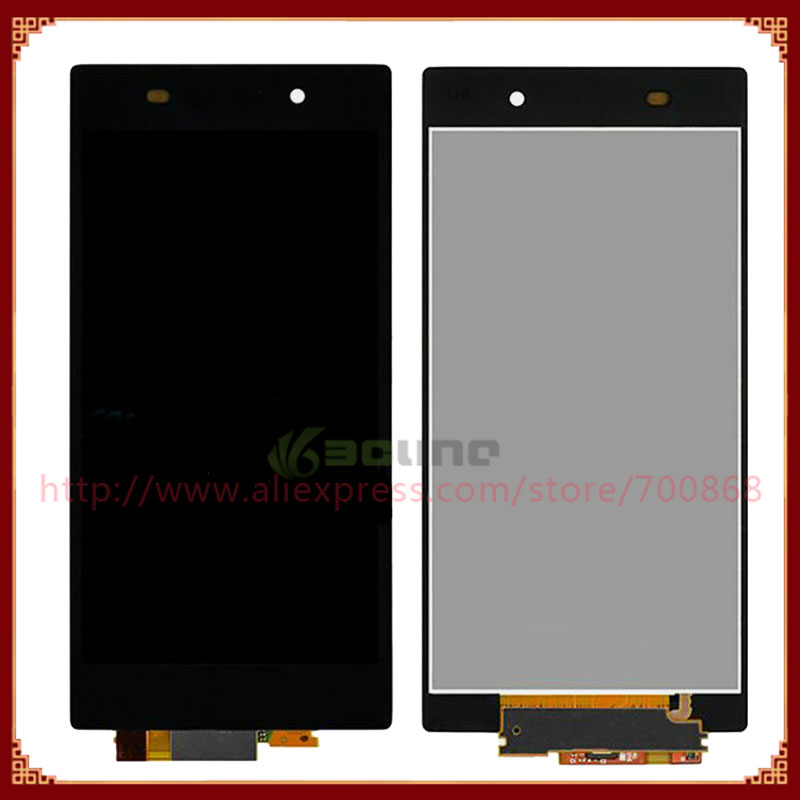 100% Test For Sony For Xperia Z1 L39h LCD Display with Touch Digitizer Assembly Free Shipping(China (Mainland))