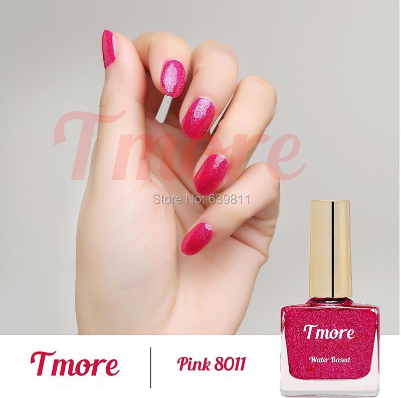 Tmore water based peel off nail polish(China (Mainland))