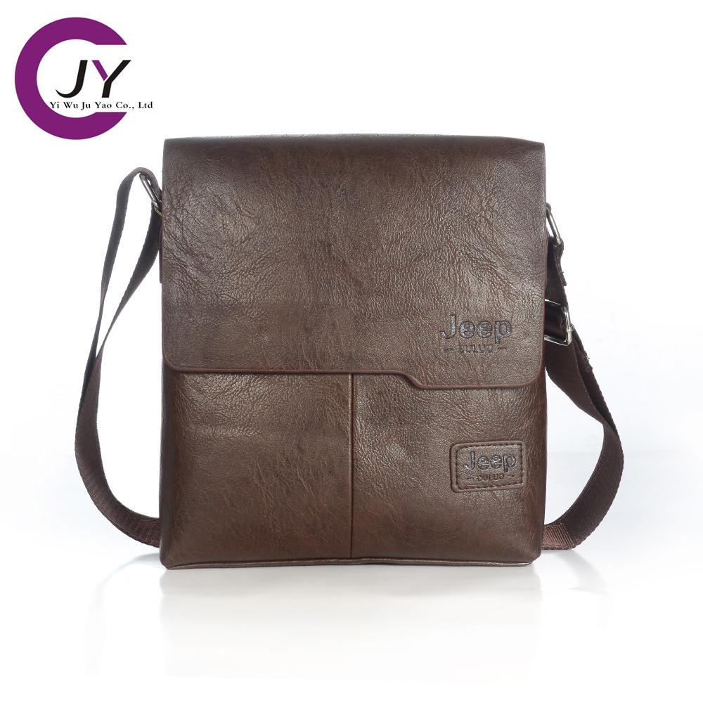 JuYao Genuine Leather bag designer crossbody bags design men cowhide messenger man - POLG JUYAO official store