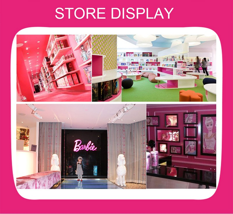 Barbie Original 18 Pcs Mini Dolls Clothes Rings Limited Collector Editions Model Action & Toy Figures Baby Toys For Girls DNC88