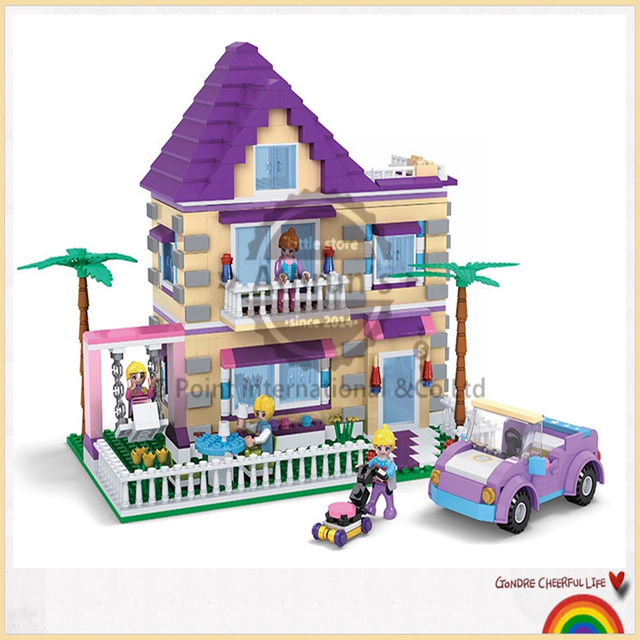 Lego Toys For Girls : Cogo girl series princess villa pcs building