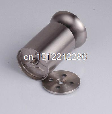 2PCS Sofa Leg Furniture Parts Bed/TV Cabinet Feet 3.5cm Length Stainless Steel(China (Mainland))