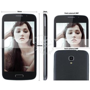unlocked cell phone 5 inch highscreen Original Z.doxio I9500 Android 4.2 celular phone S4 dual sim supernova sale GSM SC6820