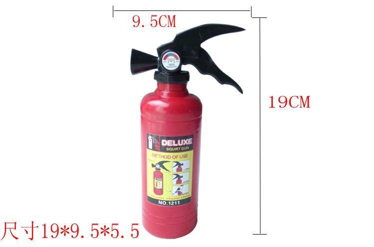 4pcs-- Fire extinguisher toy fire extinguisher water gun sprayoutdoor fun & sports water pistol(China (Mainland))