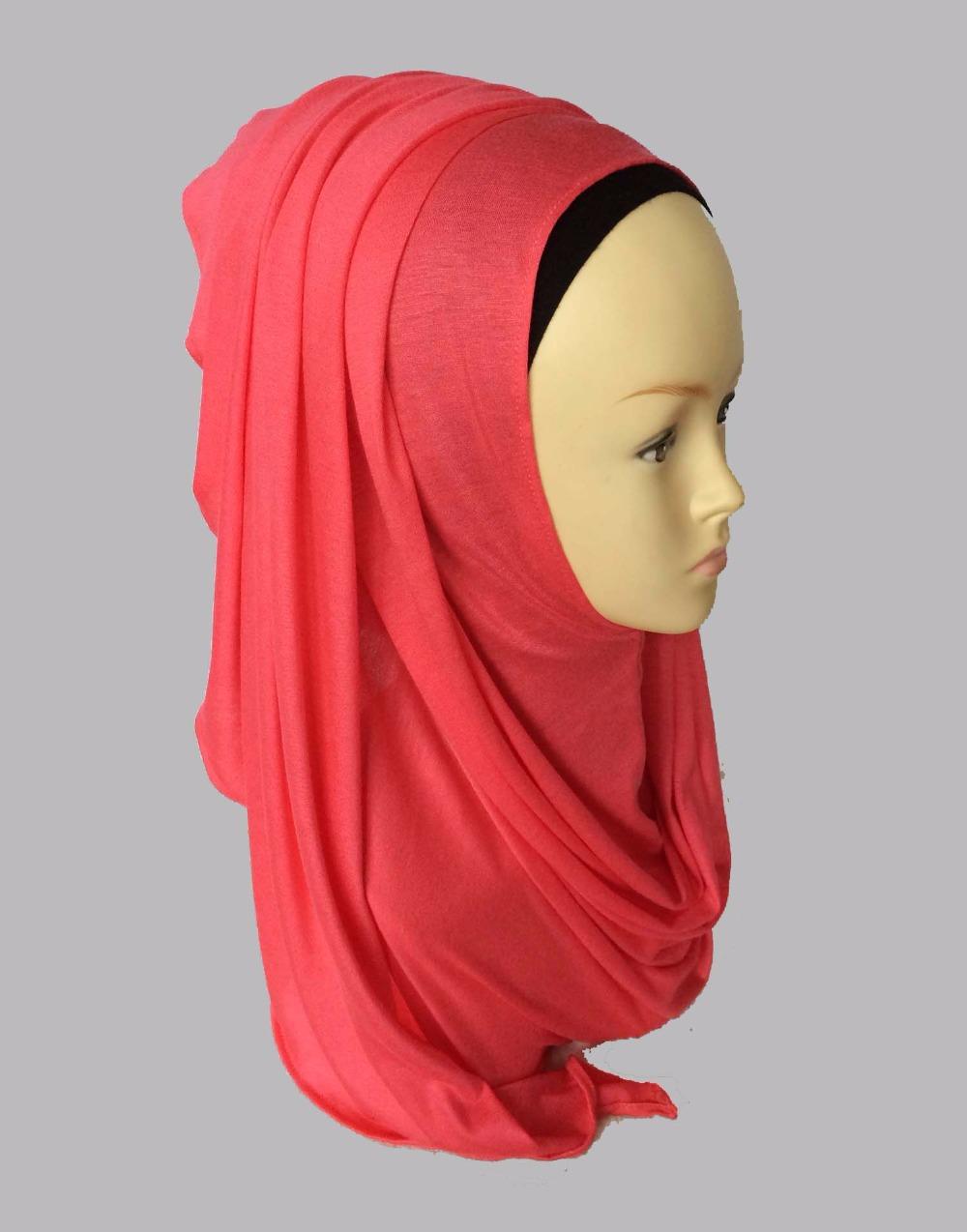 Aliexpress.com : Buy Jersey instant shawl hijab slip on ...
