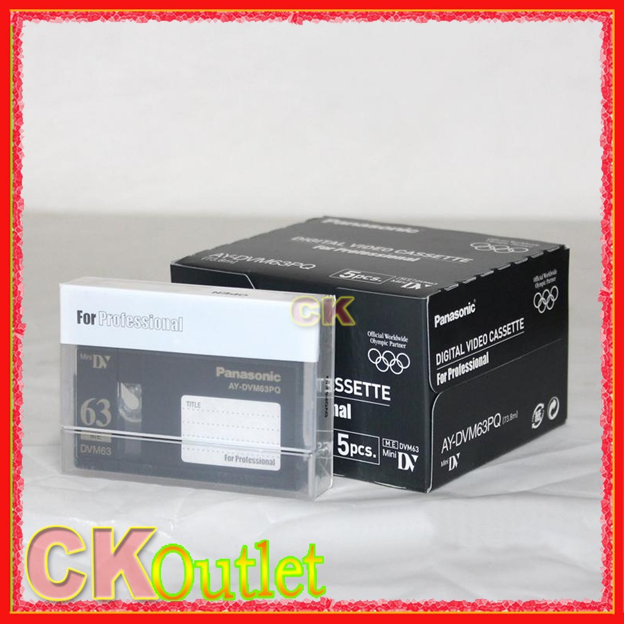 10 Pcs DVM63PQ Mini DV Tape Professional MiniDV Digital Video Cassette SP LP MADE IN JAPAN w/Free Gif(China (Mainland))