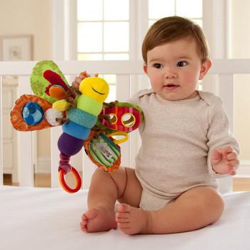 Бабочка младенческой кровать комфорт игрушка кровать прицеп с BB стоматологическая клейкий младенцы игрушки