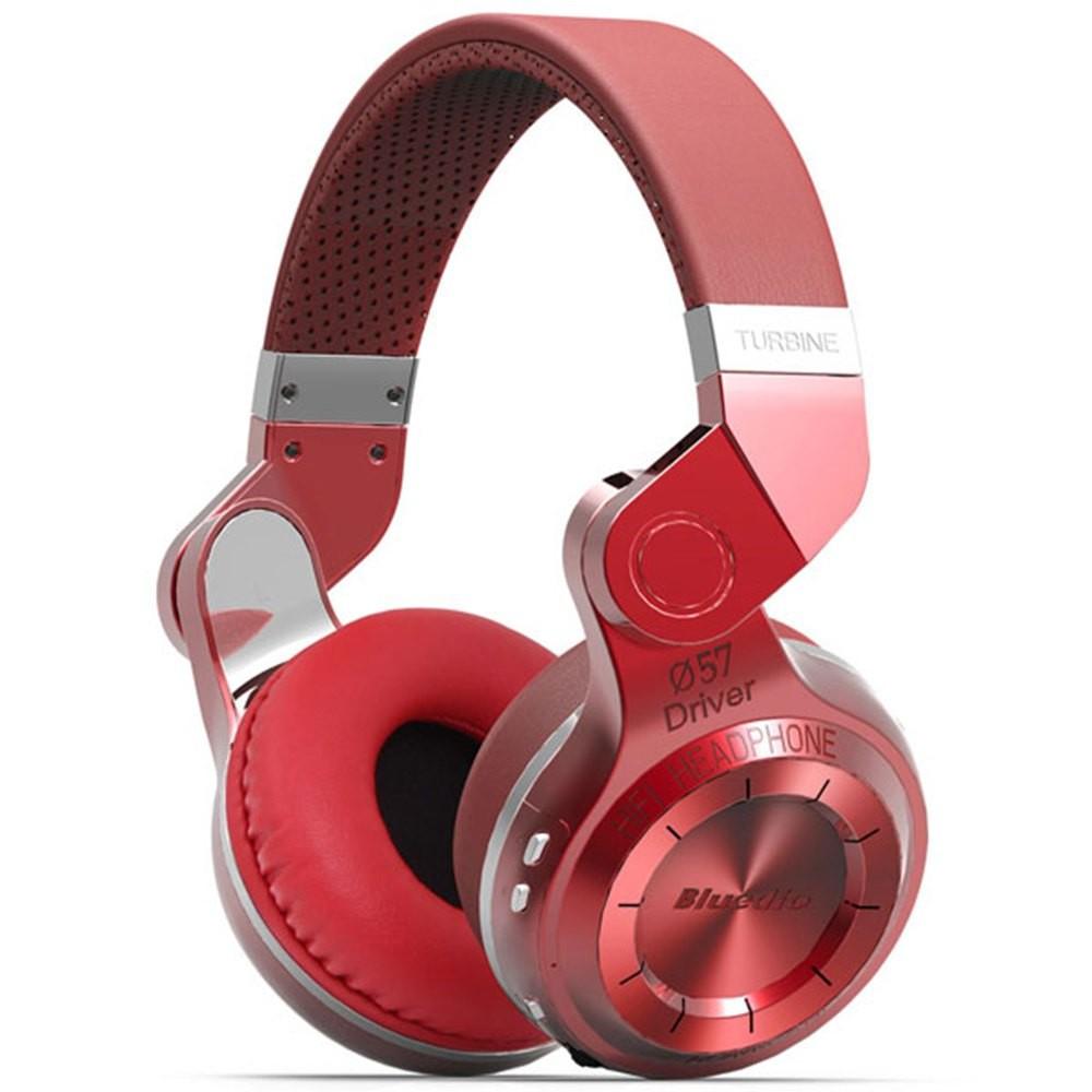 100% Original Fashion Bluedio T2 Turbo Wireless Bluetooth 4.1 Stereo Headphones Noise Headset with Mic High Bass Quality