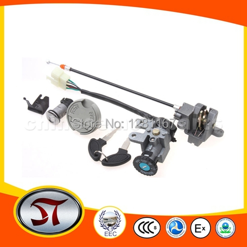 JOYWAY YY50QT-6 Ignition Switch Assy for 50cc Moped& good quality fair price(China (Mainland))