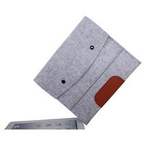 Felt design pouch smart cover case for ipad mini /mini3/mini2