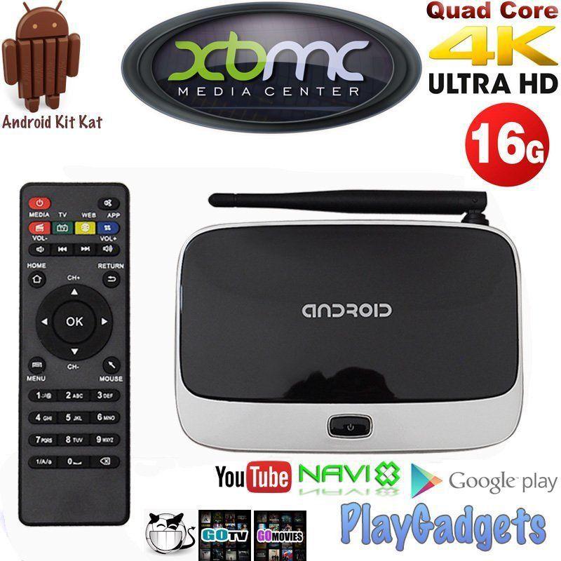 Media Streamer CS918 Quad Core RK3188 TV BOX Android 4.4 1GB+16GB XBMC KODI Full HD Media Player HDMI WIFI Smart TV Box(China (Mainland))