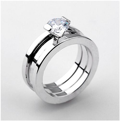 New Arrival Fashion Women Wedding Engagement Rings ,18K White Gold Plated Italian Lettering Rings aneis, Austrian Crystal Rings(China (Mainland))