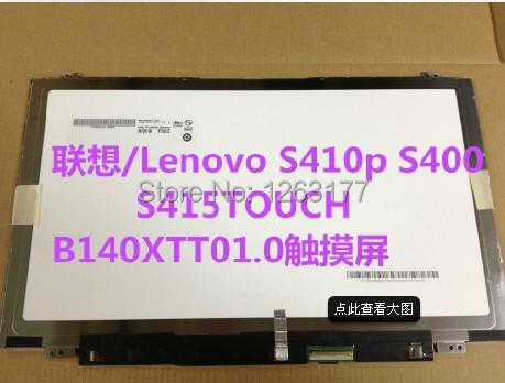 for LENOVO S415 TOUCH S400 B140XTT01.0 B140XTT01.1 B140XTT01 Assembly with touch<br><br>Aliexpress