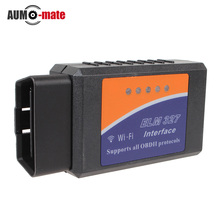 Buy 2014 Latest Version ELM327 WIFI OBD2 / OBDII Auto Diagnostic Scanner Tool ELM 327 WiFi Android ios for $12.27 in AliExpress store