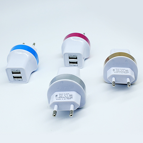 5V 2.<font><b>1A</b></font> <font><b>1A</b></font> Dual USB Wall <font><b>Travel</b></font> <font><b>Charger</b></font> EU US plug <font><b>mobile</b></font> phone <font><b>charger</b></font> for iPhone 5/6 for iPad for <font><b>Samsung</b></font> for Sony for LG4