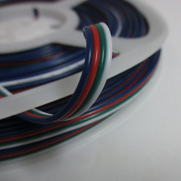 10M 4 Pin Extension RGB RGB+W Wire Connector Cable For 3528 5050 RGB LED Strip<br><br>Aliexpress