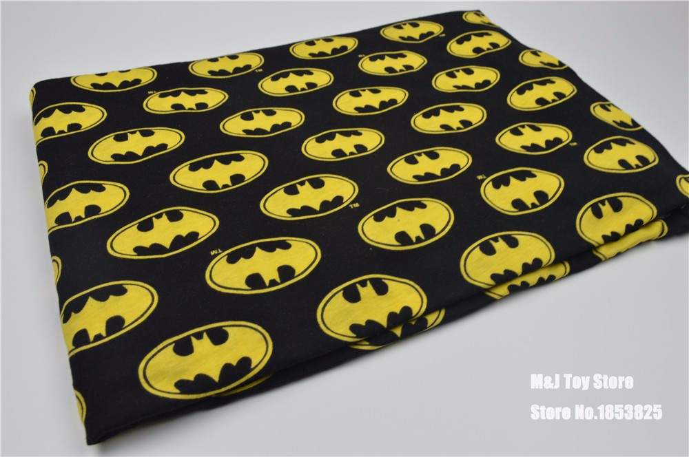 popular batman fabric buy cheap batman fabric lots from china batman fabric suppliers on. Black Bedroom Furniture Sets. Home Design Ideas