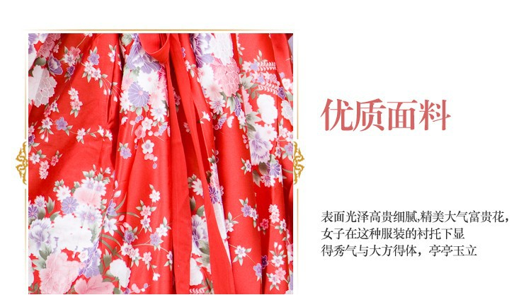 ZZB031 Female hanfu  high waist skirt costume hanfu double-breasted Ru skirts the fairy princess stage performances Wear