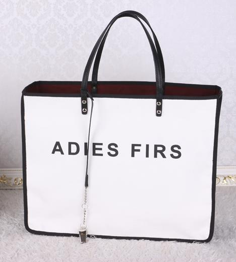 Гаджет  2015 famous brand CC new design canvas shopping bag stitching letter whistle Ladies shoulder bag casual purse ladies first 5x5 None Камера и Сумки