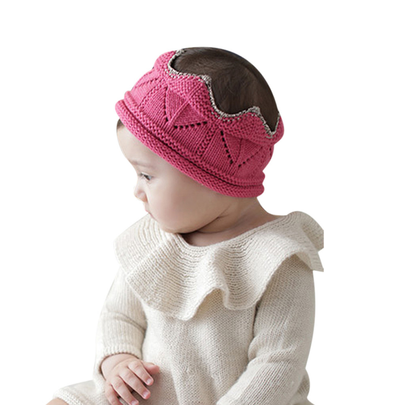 Amazing Baby Girls Hats Todders Kids Winter Autumn Caps Solid Color Free Shiping