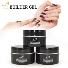 1PC 15ml Natural Nude Pastel Color UV Nail Builder Gel White Clear Camouflage Acrylic Art Manicure Extension - MONASI store