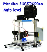 HIC 3DP-12  Auto Level Extruder 3D Printer Kits Support multiple Materials New Upgraded 3D Printer