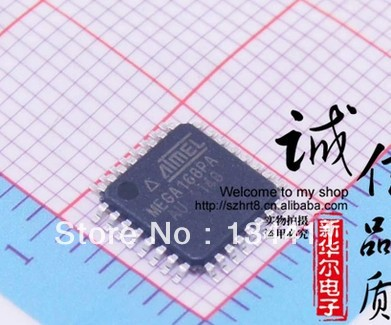 ATMEGA168PA-AU ATMEGA168 ATMEGA168PA 20pcs/lots Free shipping(China (Mainland))