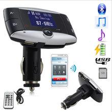 2015 новый hands-free жк-автомобильный комплект Bluetooth MP3 музыкальный плеер автомобильный радиоприемник зарядное устройство с FM передатчик на телефон + пульт + SD MMC USB