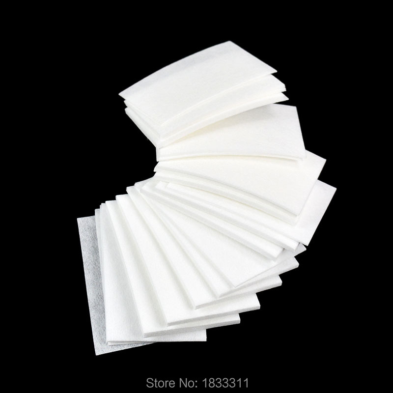 70Pcs/Set Nail Art Wipes UV Gel Nail Polish White Color Remover Cleaner Wipe Cotton Lint 2016 Hot Sale(China (Mainland))