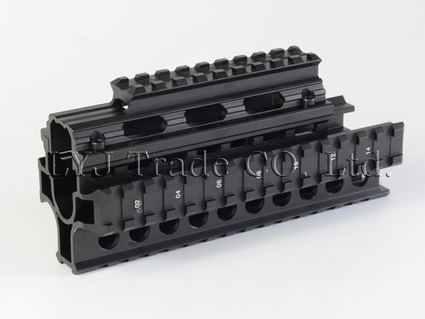 Yugo M70 AK Quad Rail Handguard  For Laser Dot Sights Riflescope Mount V-cut  for Co-witness with Iron Sights MTU011<br><br>Aliexpress