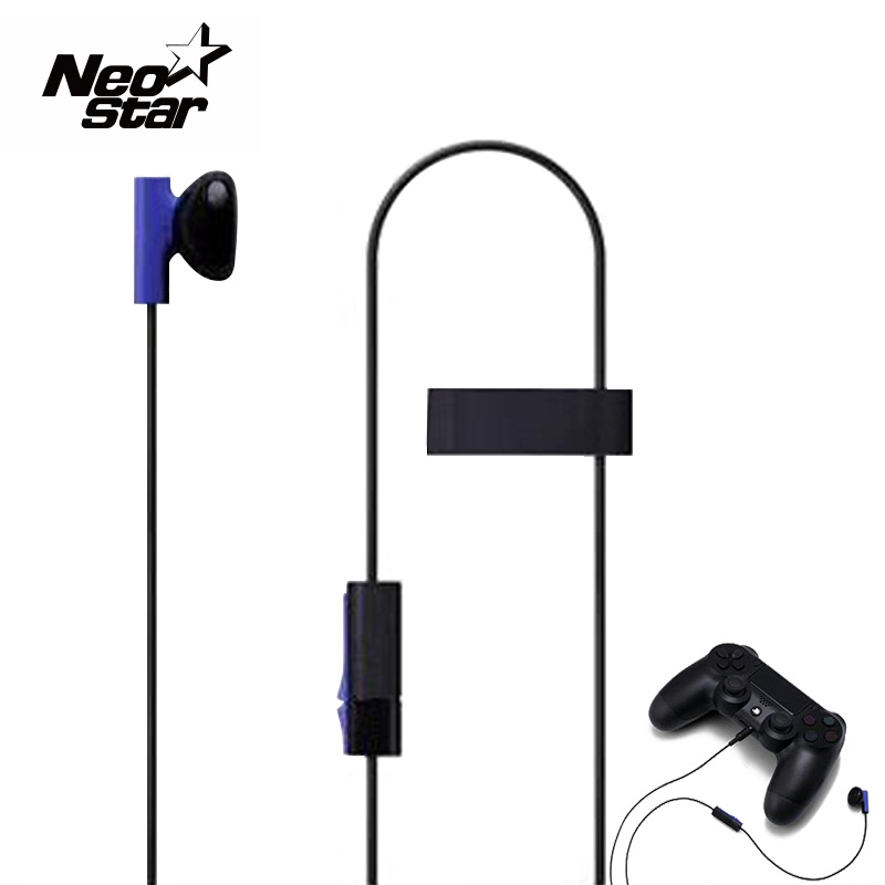 Fashion Design Original Headphones with Microphone Stereo Headphone Headset for Playstation 4 PS4(China (Mainland))