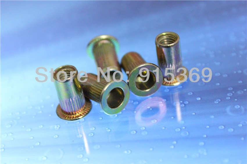120 pcs kit, 30pcs each Steel &amp; Aluminium M6 M8 rivet nut kits Nutsert insert nut  ally nut alloy rivet nut<br><br>Aliexpress