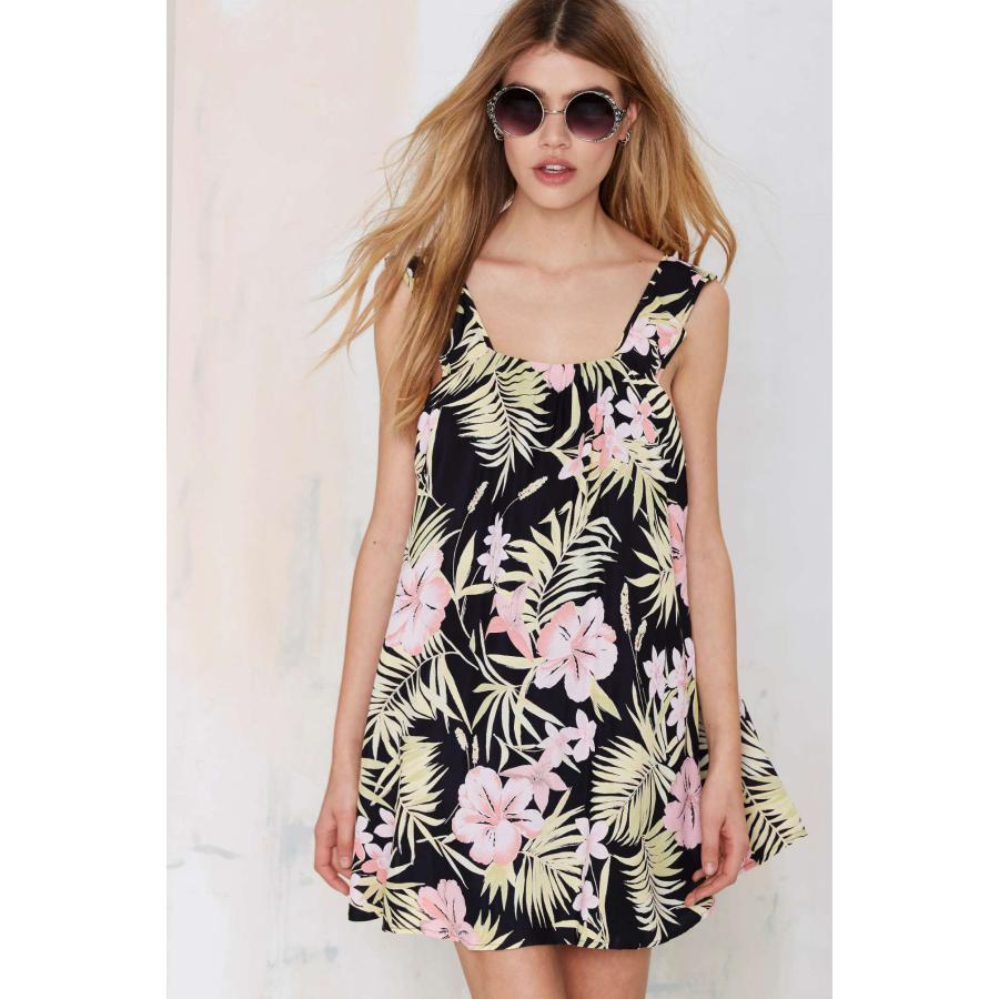 Sexy Floral Tropical Print Strapless Ladies Bodycon Midi Dress Backless Urban Clothing Summer Style Vetement Size S-xxl(China (Mainland))