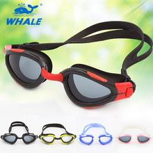 Кит новое профессиональный анти-туман / уф регулируемые плавательные очки мужчины женщины водонепроницаемый силиконовые очки взрослых глаз-игрушка одежда