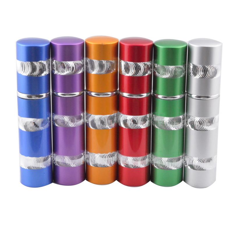 (50pcs) 10ml Mini Beauty Aluminum Perfume Bottle Mini Atomizer With Spray Bottle Parfum Container Free Shipping(China (Mainland))