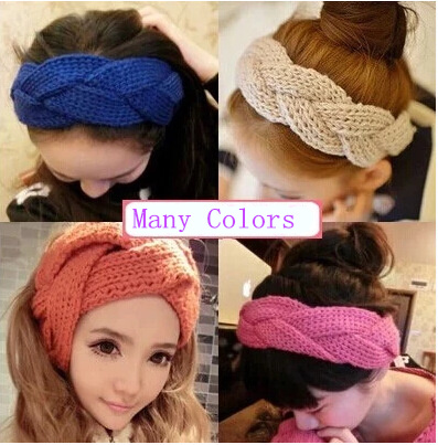 Trendy bandage for head women headband weaving girls hair bands headband style hair accessories Many colors fashion style Top(China (Mainland))