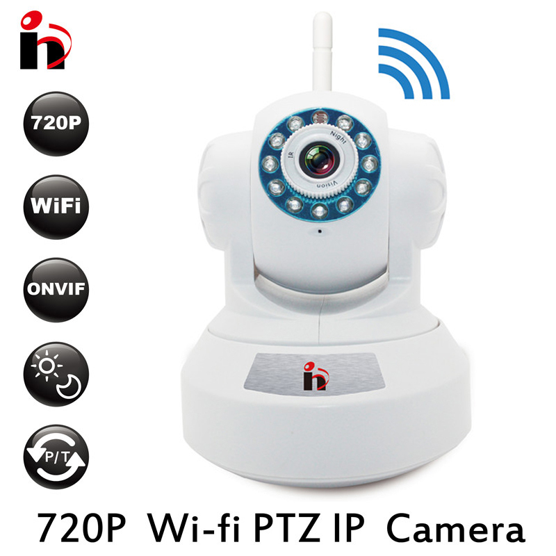 HY Free Ship 720P Infrared Wifi Camera PTZ P2P Wireless HD 1.0MP IP Camera IRCUT CMOS Security Surveilla