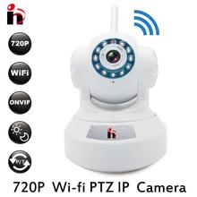 HYฟรีเรือ720จุดอินฟราเรดWifiกล้องPTZ P2Pไร้สาย HD 1.0MPกล้องIP IR CUT CMOSเฝ้าระวังรักษาความปลอดภัยกล้องNight วิสัยทัศน์(China (Mainland))