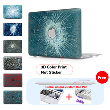 Bullet Through Glass Frosted Protective Case For Apple Macbook Air 11 13 Pro 13 Retina Case Mac Book Pro 13 Retina Case A1466
