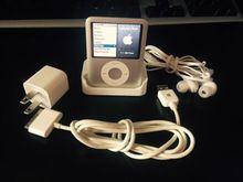 Серебро для IPOD nano 3 3th поколения 32 ГБ fm-видео книг MP4 музыкальный плеер бесплатная доставка разнообразие язык