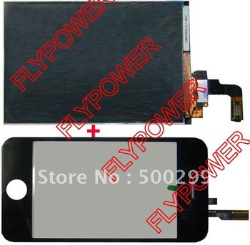 For iphone 3G lcd screen with touch screen digitizer without erro-pixel by free shipping(China (Mainland))