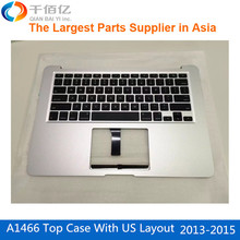 Original New A1466 Top Case for Macbook Air 13' with US Layout Mid 2013- Early 2015(China (Mainland))