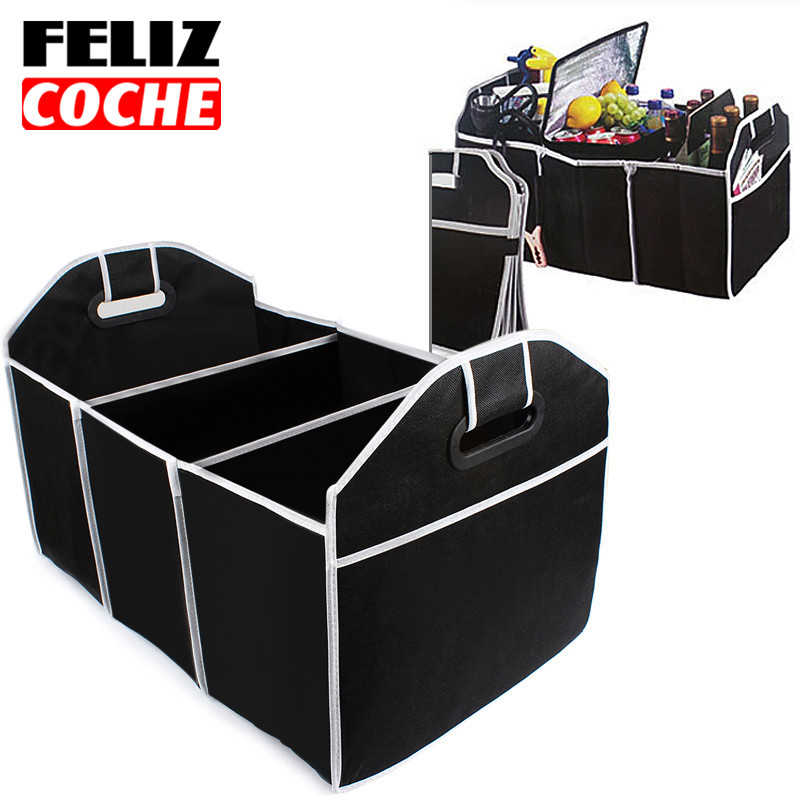 FELIZCOCHE Car Trunk Organizer Car Toys Food Storage Container Bag Box Styling Interior Accessories Supplies Gear Products A3205(China (Mainland))