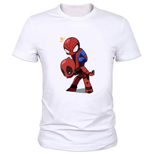 MOE CERF 2016 Clothing Deadpool Boys T Shirt Boys 3D T-Shirt Children Hip Hop T Shirt Spiderman Clothes Factory outlets W-163#