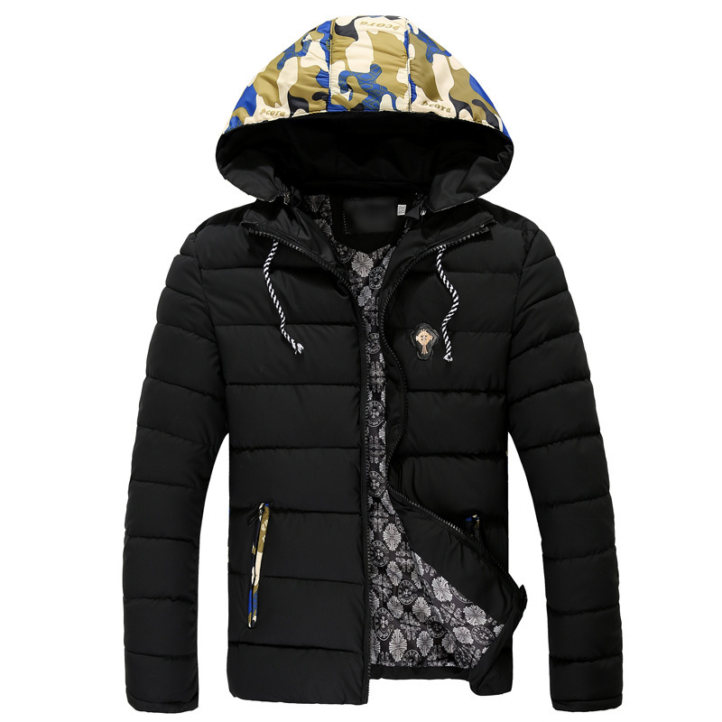 New Brand 2015 Men Down Jacket Winter Jackets Camouflage Padded Coat Men Clothes Winter Ourdoor Warm