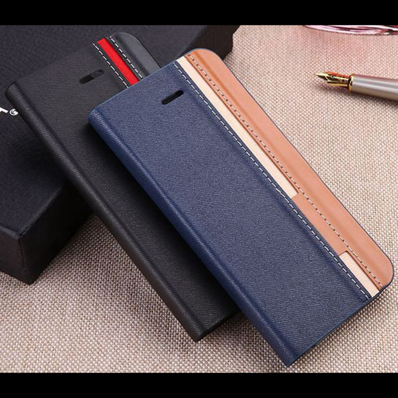 Cover Case Samsung Galaxy S3 Mini / S3, Gentle Business Style Case Stand Function, Flip Wallet, Samsung S3 Coque Leather